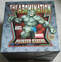 Abomination Statue Faux Bronze Marvel Hulks Enemy Mint Randy Bowen 181 of 300 - Itemsforless