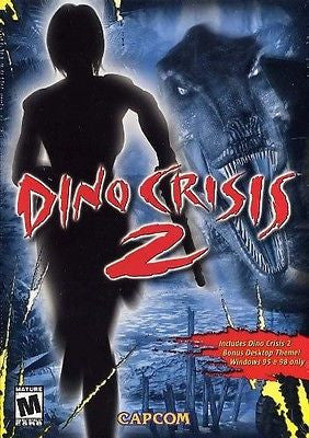 Dino Crisis 2 (PC windows Computer Game 2002) Factory Sealed NEW Box - Itemsforless