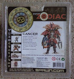 Warriors of the Zodiac Cancer Mcfarlane spawn.com toys -  ITEMSFORLESS        - 2