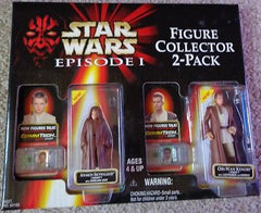 Anakin Skywalker Obi-Wan Kenobi Star Wars Episode 1  2 Pack - Itemsforless