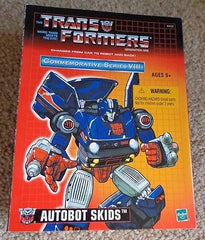 Transformers Autobot skids new in the sealed box Commemorative Series VIII