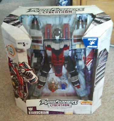 Transformers Starscream Surpreme Class Action Figure Lights and Sounds NEW