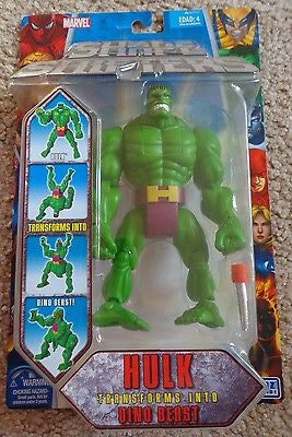 Shape Shifters Hulk Marvel Figure Brand New Rare Toy Biz