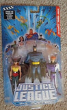 Justice League Unlimited Batman Hawkgirl Elongated Man Brand New DC Mattel - Itemsforless