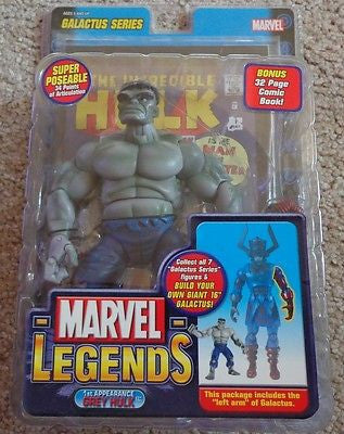 marvel legends first appearance grey hulk figure new