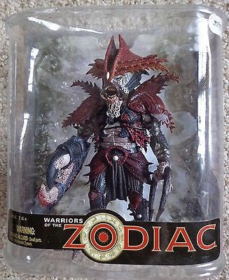 Warriors of the Zodiac Cancer Mcfarlane spawn.com toys -  ITEMSFORLESS        - 1