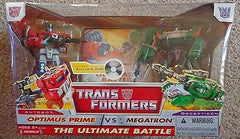 Optimus prime vs Megatron The Ultimate Battle + DVD New Sealed Box