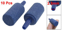 10PCS 14.5mm x 25mm Mineral Release Aquarium Air Stone Blue - Itemsforless