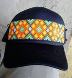 Beaded Trucker Hats