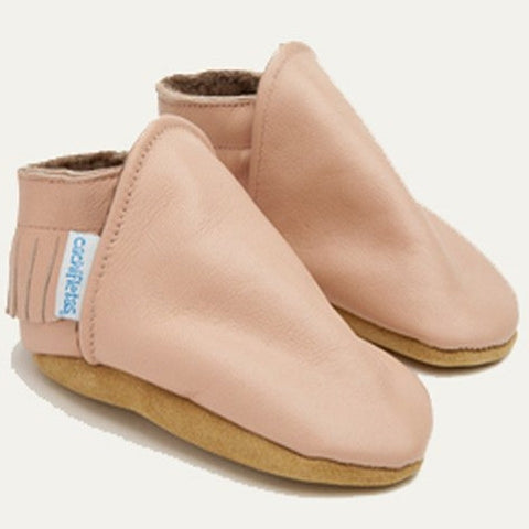 "Soft Pink ""Indio"" Booties"
