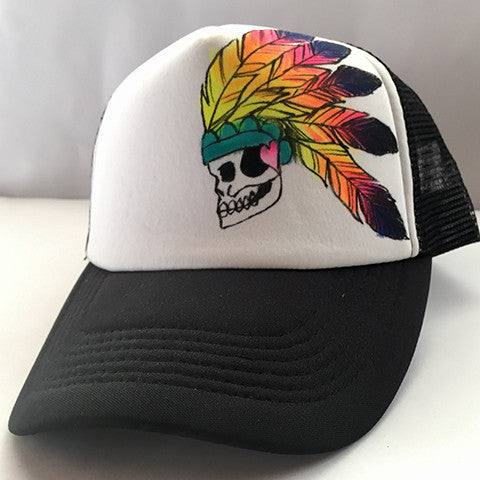 Colorful Indian Chief Headress Hat