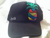 Hand Embroidered Pineapple Hat