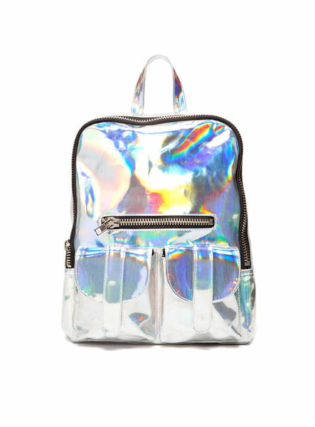IRIDESCENT Laser Backpack