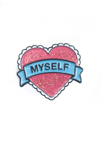 MYSELF Pin Badge