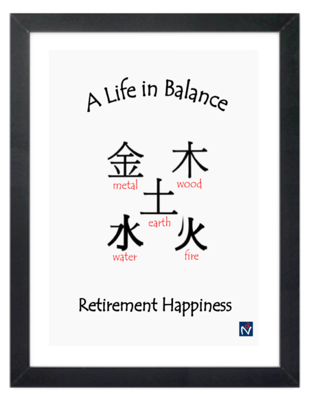 Framed Canvas Print - Life in Balance