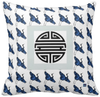 Blue Pillow - Chinese Cranes $27.95