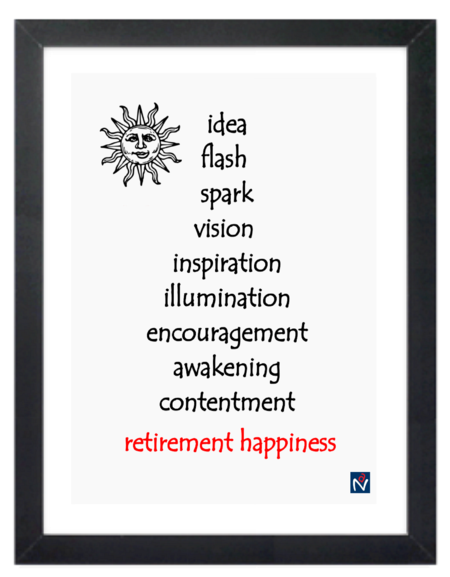 Framed Canvas Print - Idea Flash Spark
