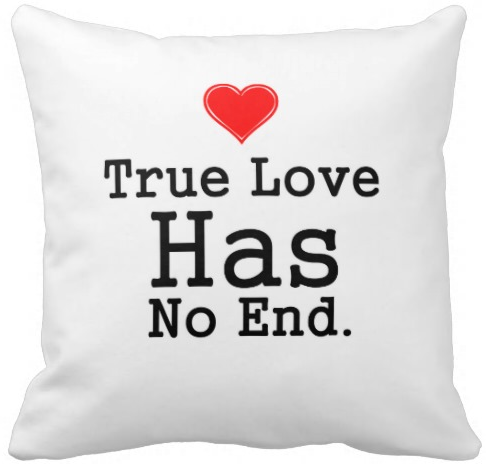 White Pillow - True Love Has No End $27.95