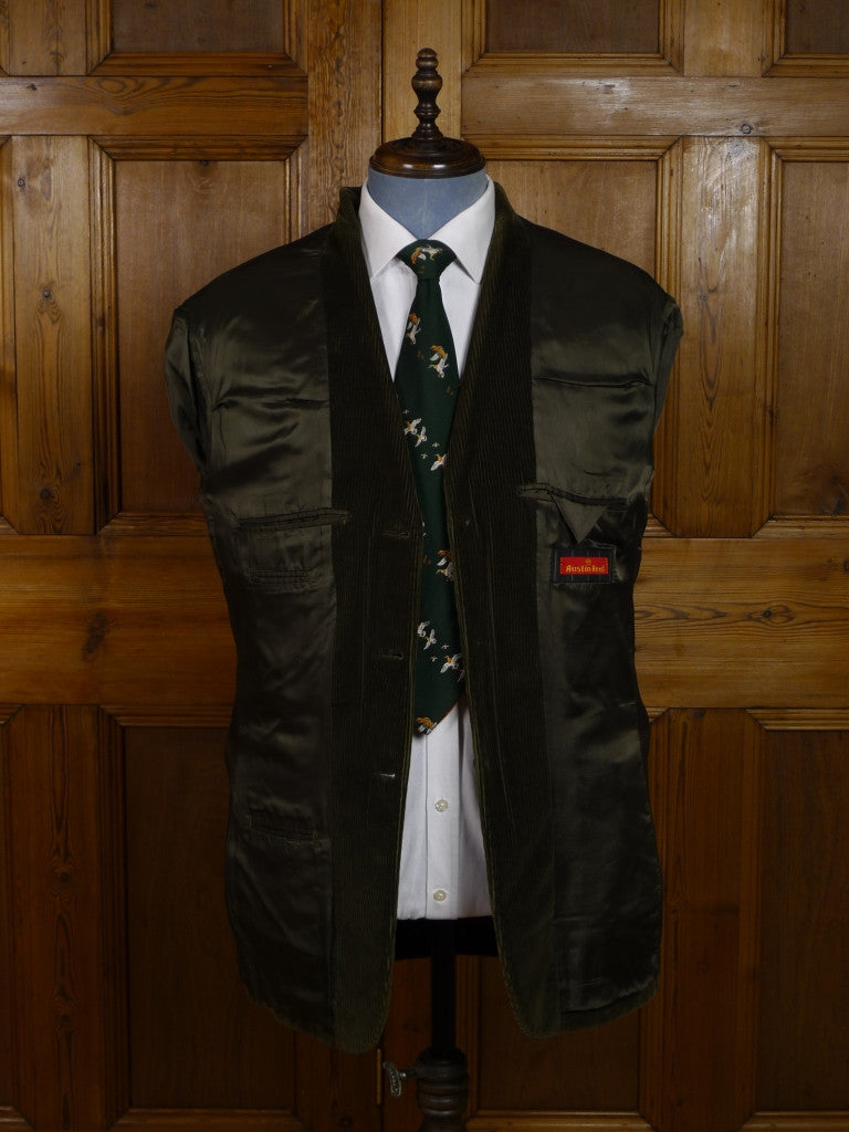 Modern Austin Reed 3 Button Green Corduroy Jacket 40l Savvyrow Staging