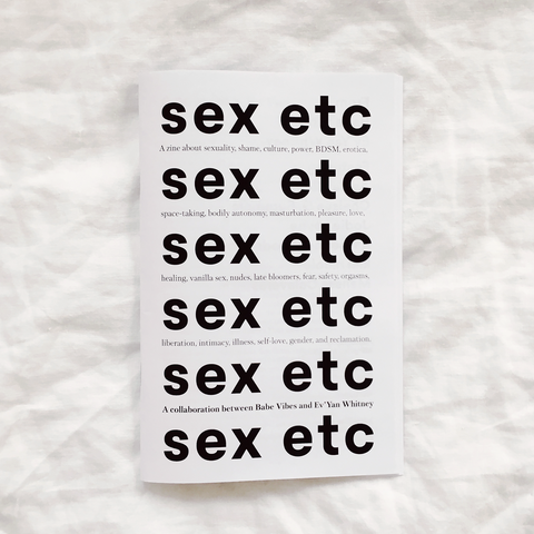 Sex Etc Zine