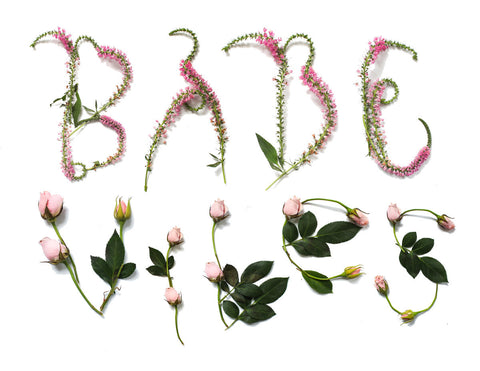 Babe Vibes Flower Digital Print