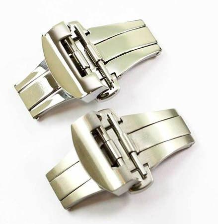 22mm Deployant buckle for your Panerai Watch Strap...Shiny or Brushed - TC Straps