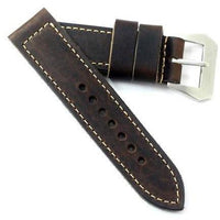 Fabrizio Ciampi Handmade Distressed Brown with Pre-V buckle - TC Straps