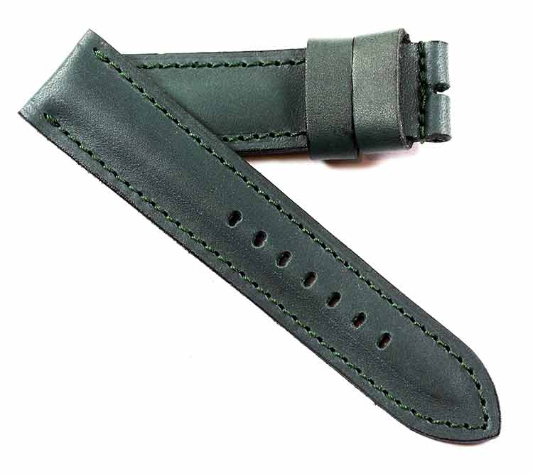 New color...Original Kodiak 100% waterproof Midnight Sea Green for Tang buckles - TC Straps