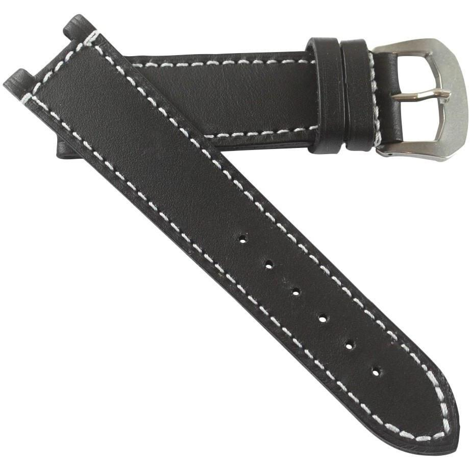 Original Kodiak Waterproof Straps for Anonimo Militaire with White stitching - TC Straps