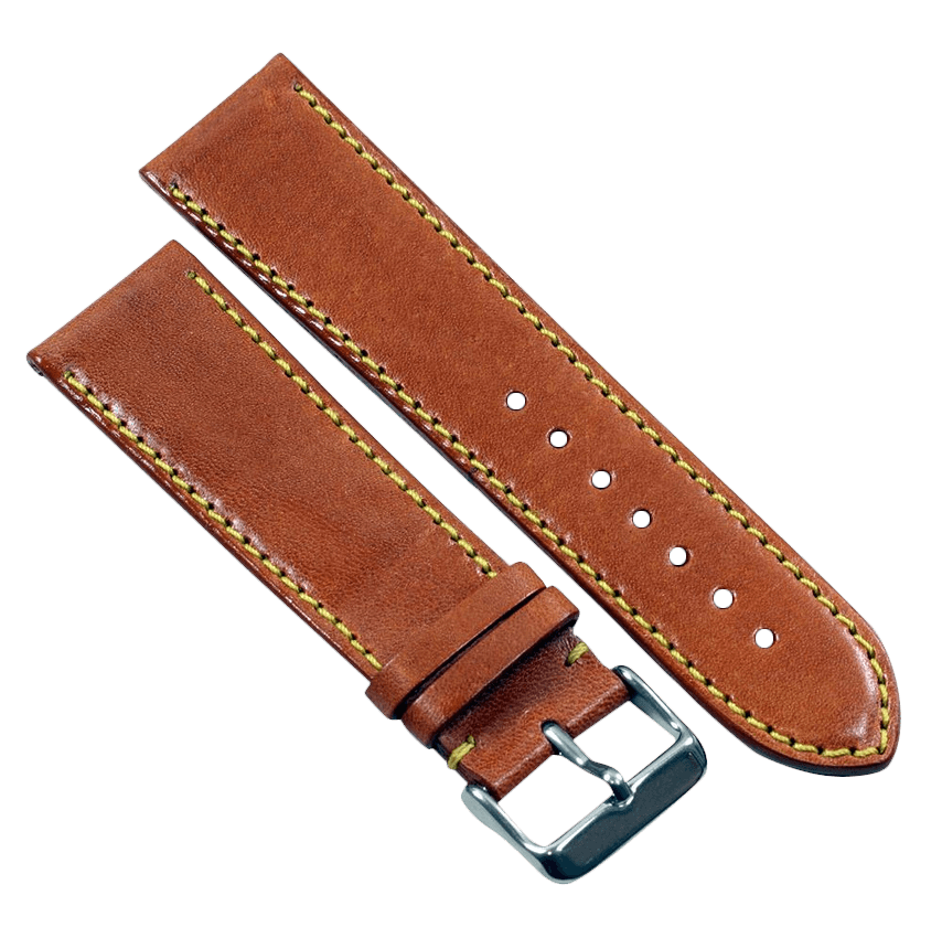 TC Milano in Cognac for your Panerai or other fine watch 18/16 125/75 - TC Straps