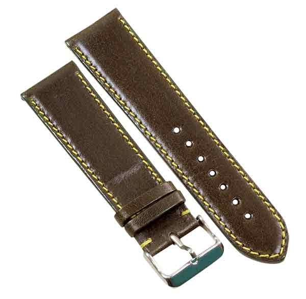 TC Milano in Pewter Brown for your Panerai or other fine watch - TC Straps