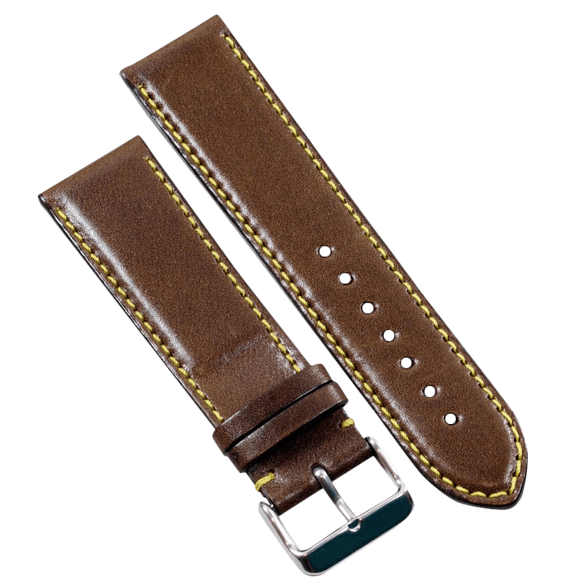 TC Milano in Saddle Brown for your Panerai or other fine watch - TC Straps