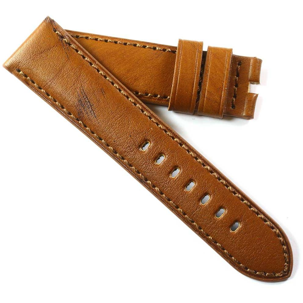 Toscana Handmade in Vintage Tan Oak Calfskin for Tang buckles - TC Straps