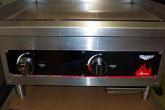 "Griddle Gas 24"" Flat Top Vollrath Model FTG9024"