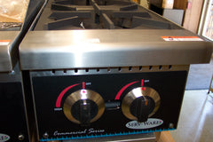Serv-Ware Gas 2 Burner Hot Plate - Model SHP-12