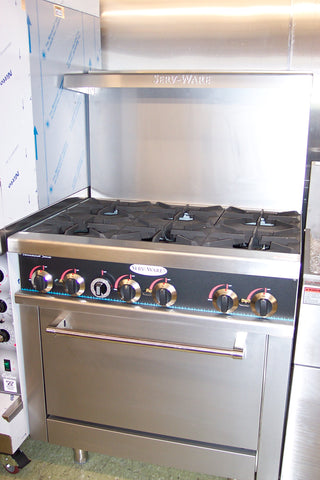 Range 6 Burner Gas Serv-Ware Model SGR-6