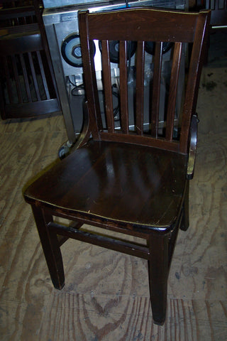 Chairs - Walnut Finish (all wood) used