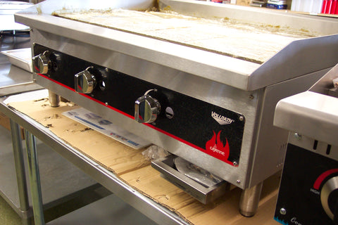 "Griddle Gas 36"" Flat Top Vollrath Model FTG9036"