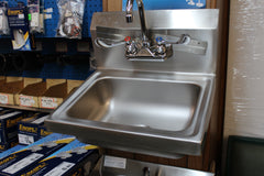 SINK - HAND SINK (WALL MOUNT)