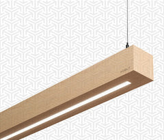 Wooden Linear LED Lamps