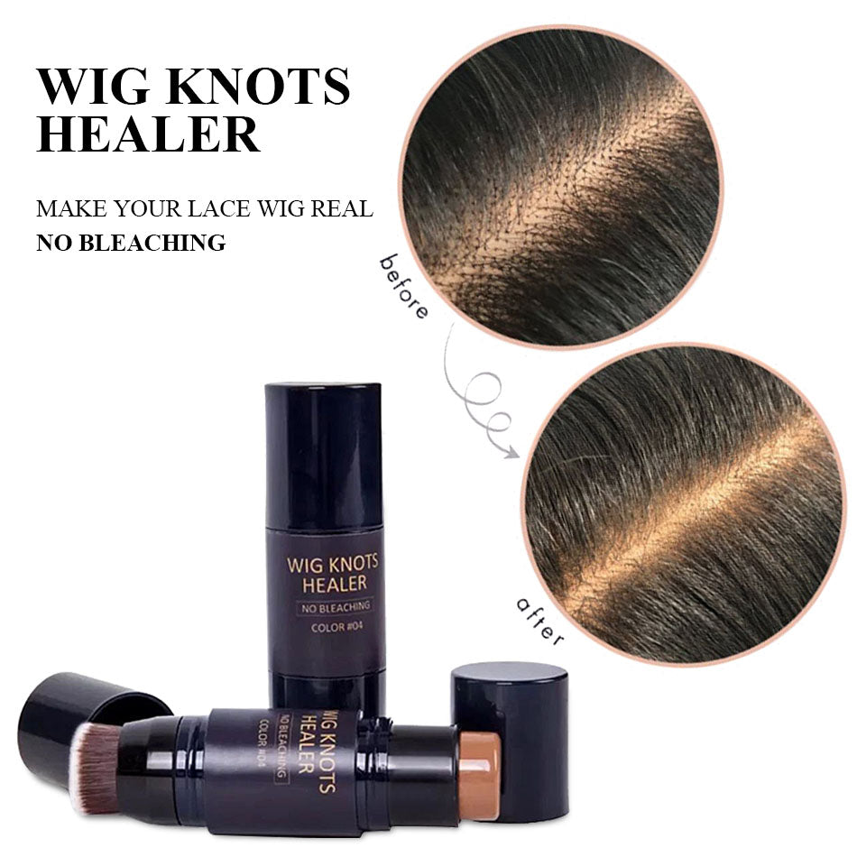 WIG KNOTS HEALER WITH BRUSH   NO BLEACHING NEEDED