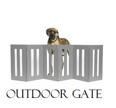 Outdoor Pet Barrier Gate