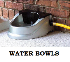 Automatic Fill Dog Water Bowls
