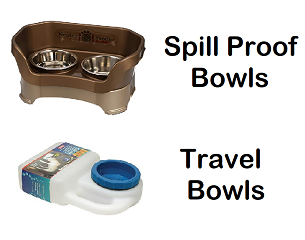 No Spill Dog Water Bowls | Travel Pet Bowls
