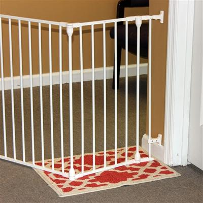 100 Inch Indoor Pet Gate - White