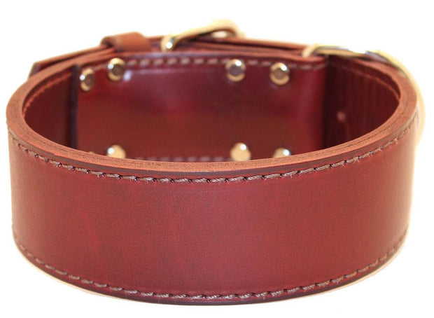 2 Inch Wide Leather Collars
