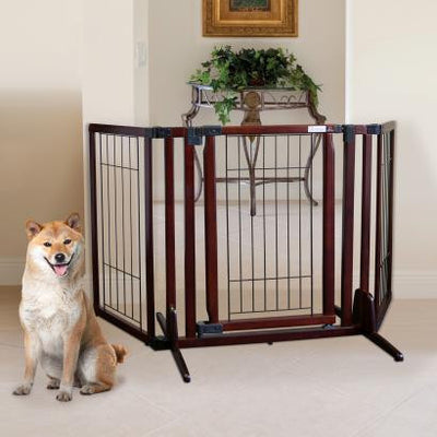 Cherry Brown Premium Plus Decorator Gate