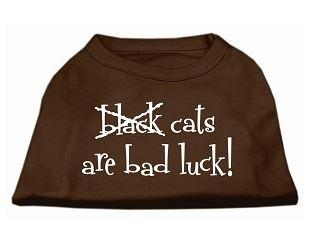 shirt for dogs -cats are bad luck