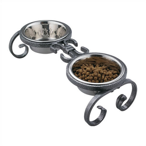Heavy Duty Iron Scroll Diner