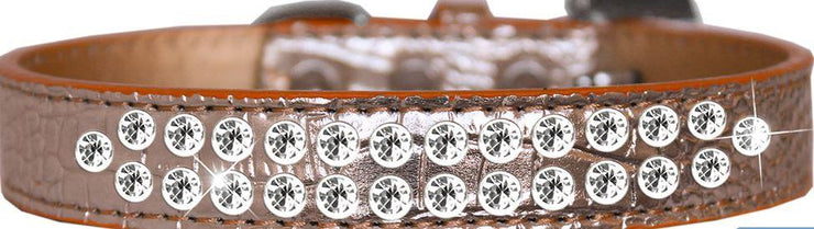 Crock Rhinestone Dog Collar